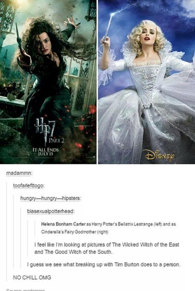 Avada Kedavra Oopsie Wrong Spell Hee Hee Harry Potter Jokes Harry Potter Funny Helena Bonham Carter