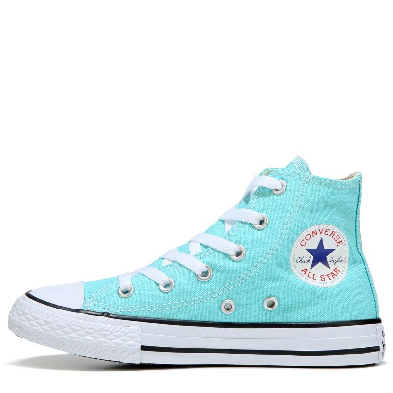 26f558dd5709 Converse Kids  Chuck Taylor All Star Seasonal High Top Sneakers (Aqua) -  11.0 M