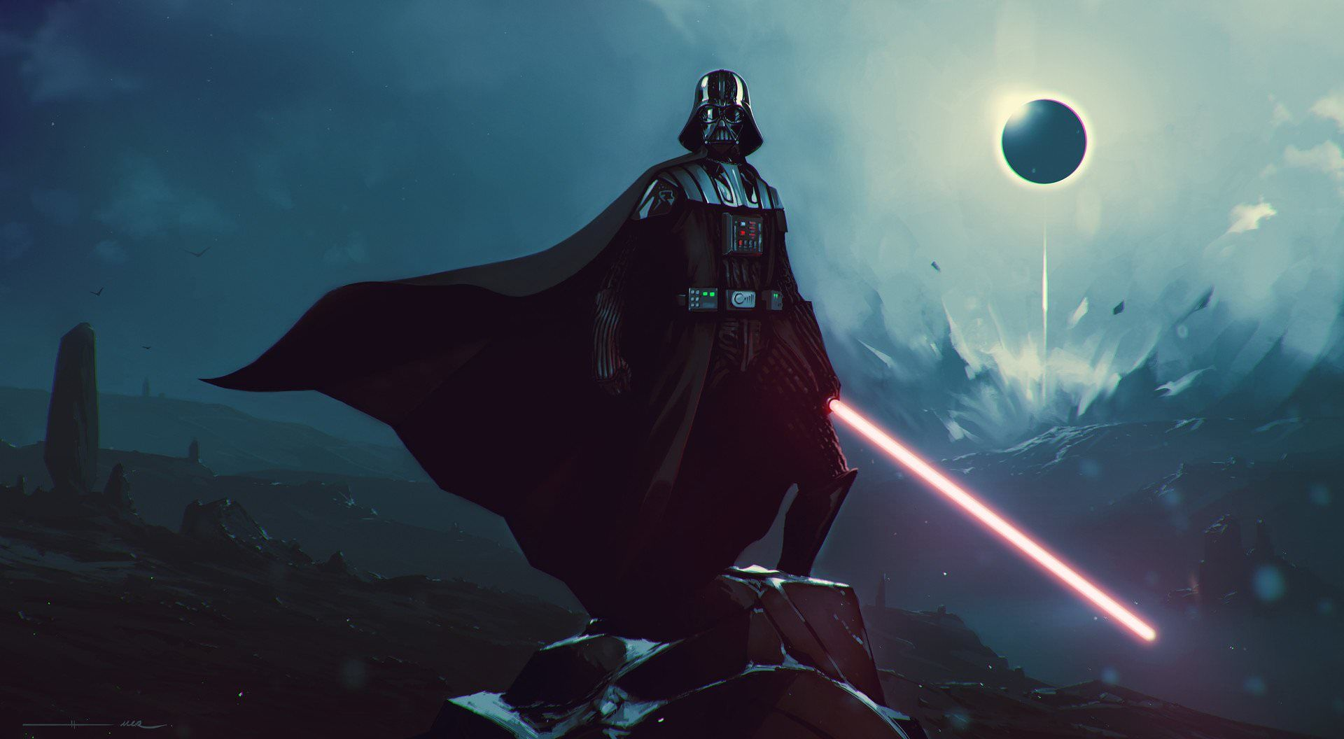 Of My Favorite Star Wars Wallpapers X Album On Imgur Darth Vader Hd Bilder Hintergrundbilder