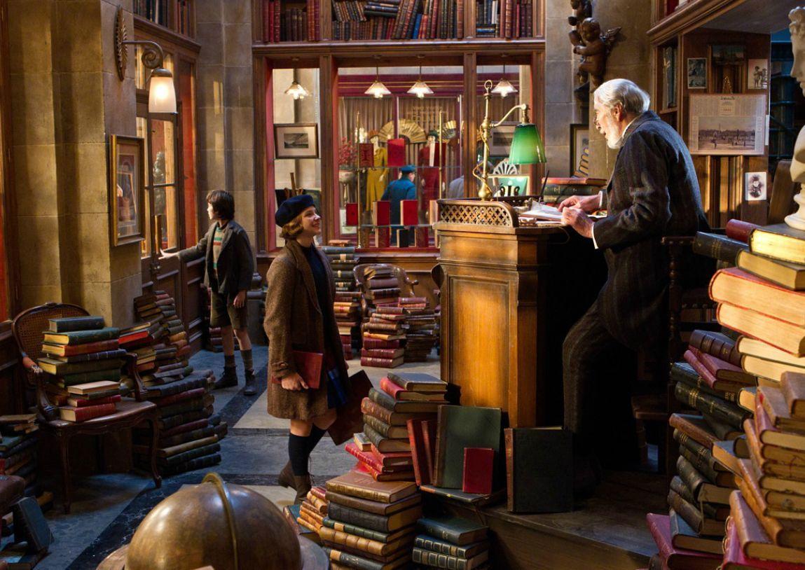 Library HUGO Production Designer Dante Ferretti Scenes