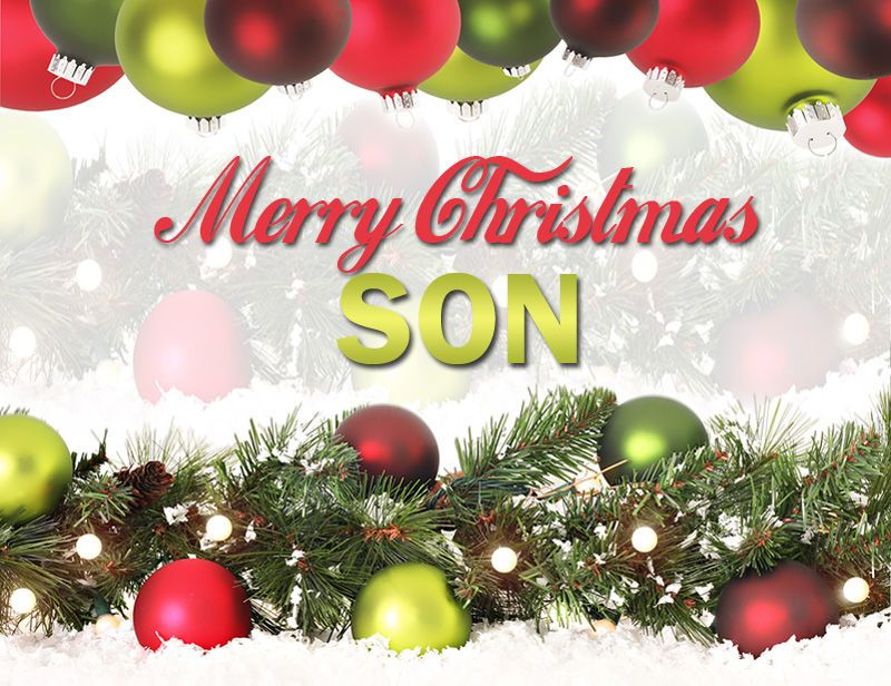 Merry Christmas Son Images