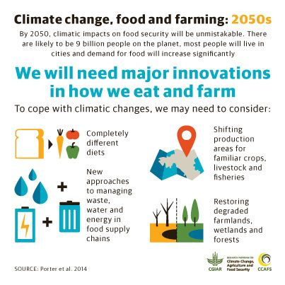 We Are All In This Together Agriculture Growth Jobs Food Security And Climate Ccafs Cgiar Research Program On Clima Climate Change Climates Food Security