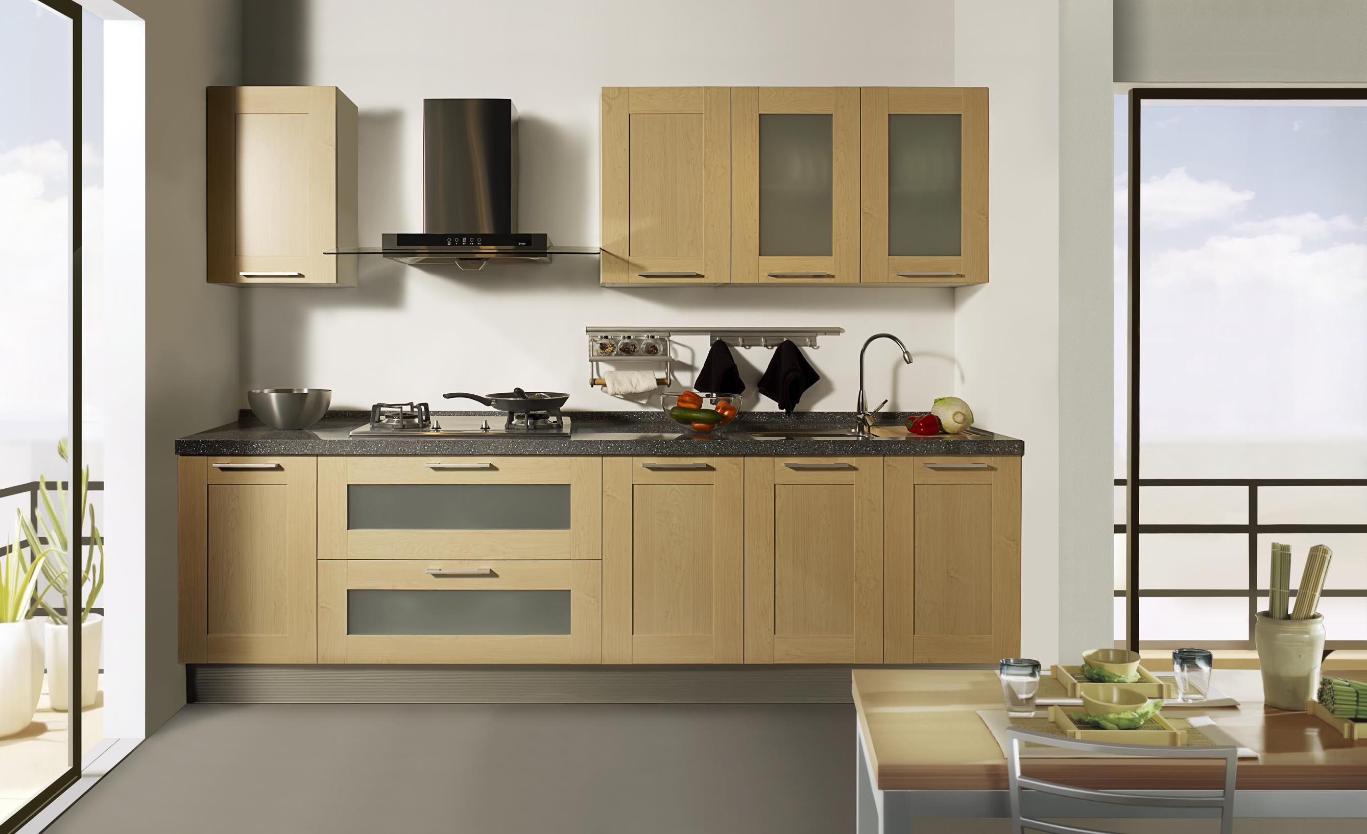 Natural Affordable Design Of The Kitchen Cabinets Models That Can ...