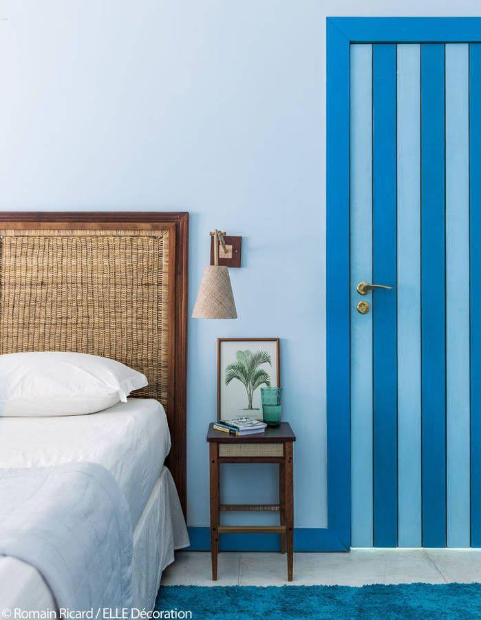 Le Petit Hotel De Reve Imagine Par Stella Cadente Du Bleu Du Bleu Et Encore Du Bleu Maison Decoration Maison Et Chambre Bleu