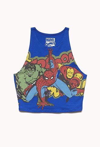 488746b2b8584 Rescue Me Superhero Crop Top