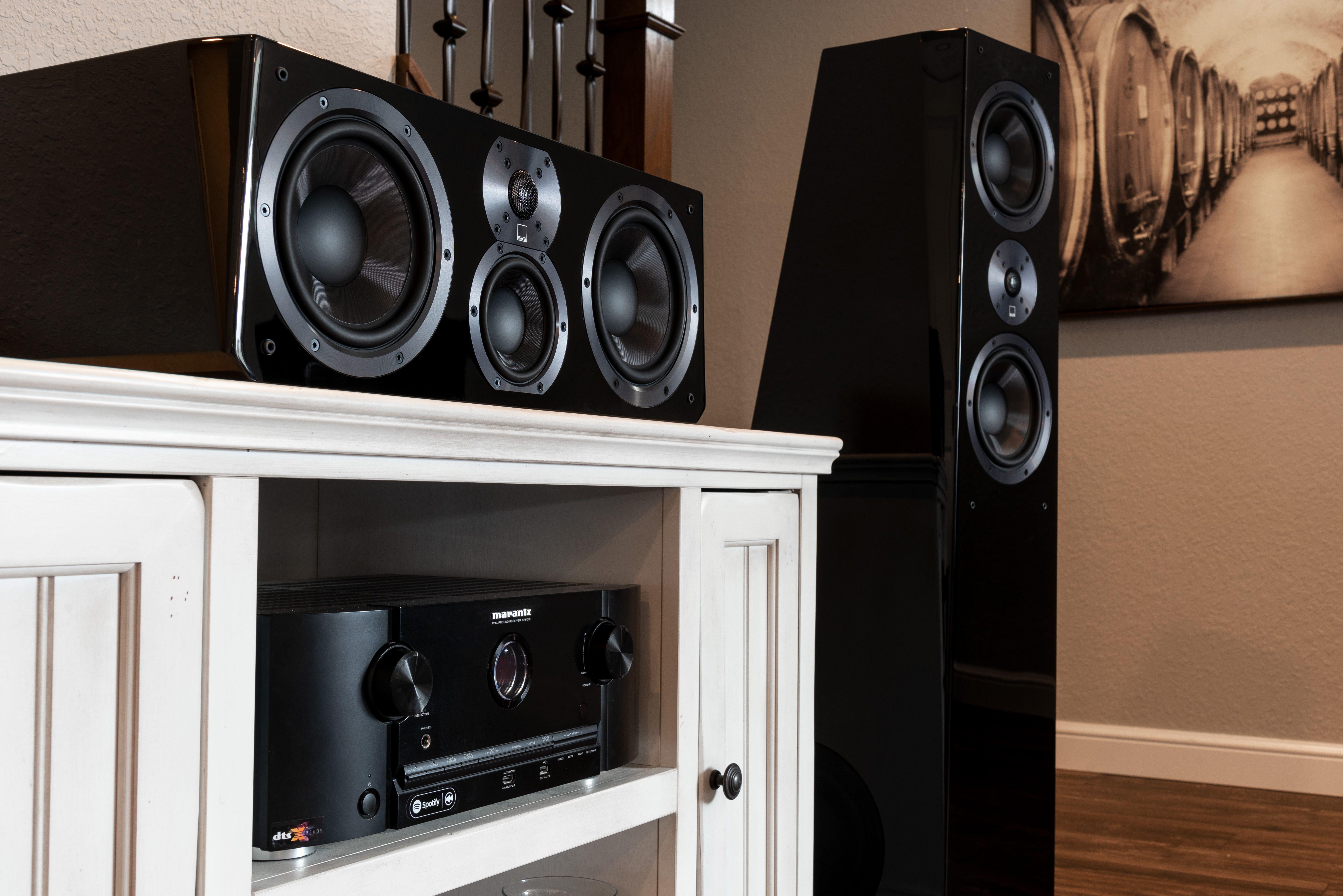 Center Channel Speaker Placement Tips  Furniture promo, Tv decor