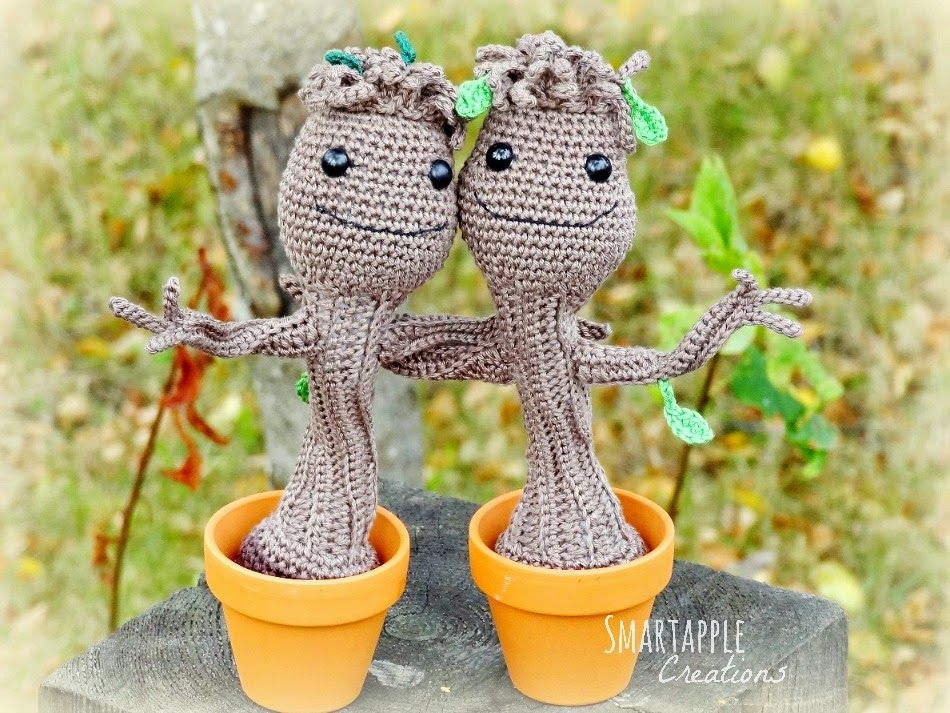 Amigurumi Patterns Groot : Baby groot crochet pattern has become undeniably my most popular