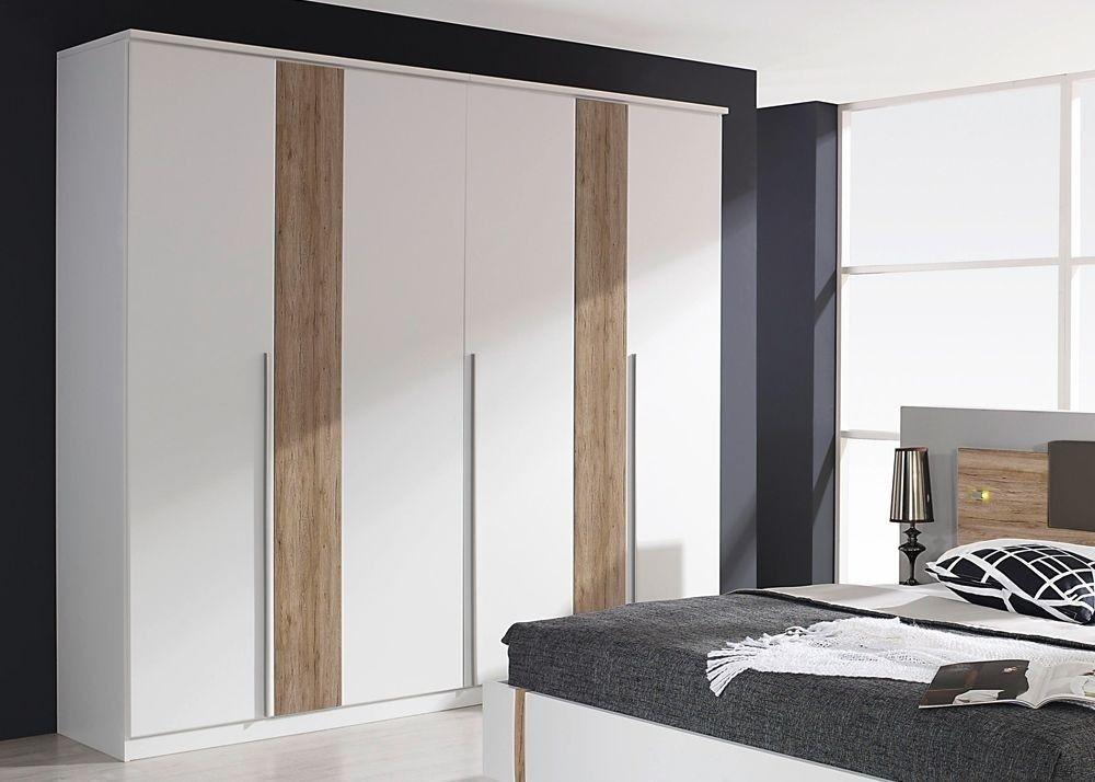 Kleiderschrank Anna 225,0 cm Alpinweiß 10265 Buy now at https - schlafzimmerschrank weiß hochglanz