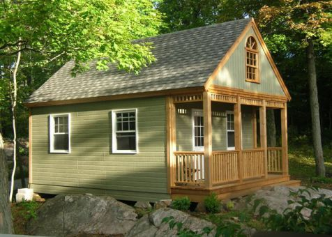 16 X 24 Cheyenne Cabin In Bobcaygeon Ontario Tiny Cabins House Cabin