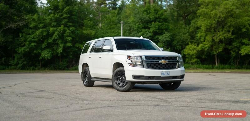 Chevrolet Tahoe Ppv Chevrolet Tahoe Forsale Canada