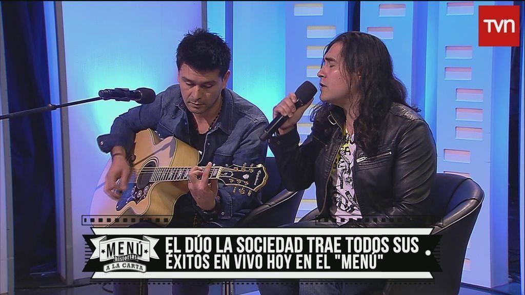 El dúo #LaSociedad, interpreta sus éxitos en #MenúTVN