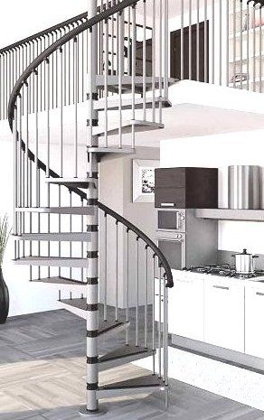 Gamia Metal Spiral Staircase 1200mm