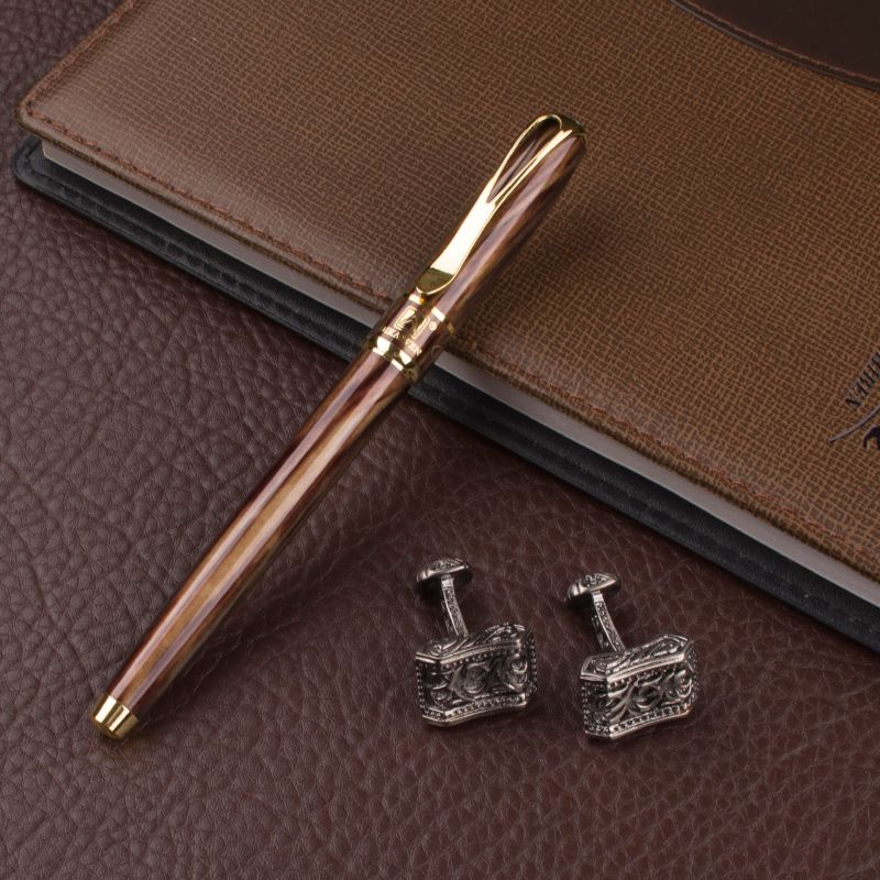 DIKA WEN luxury quality signature office stationery novelty Roller Ball Pen  ang cufflinks for mens luxury