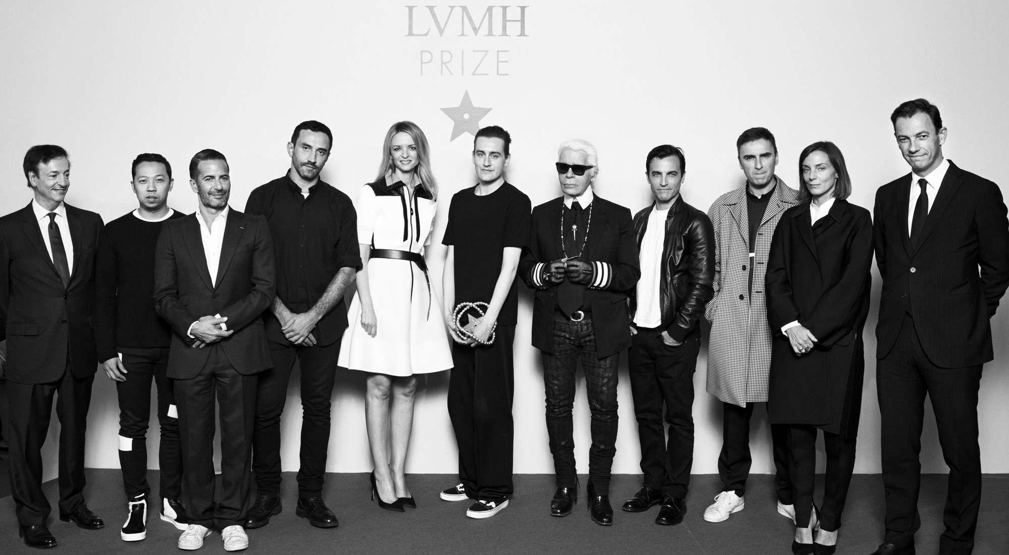 Stilisi Presenti alla Premiazione del LVMH Young Fashion Designer