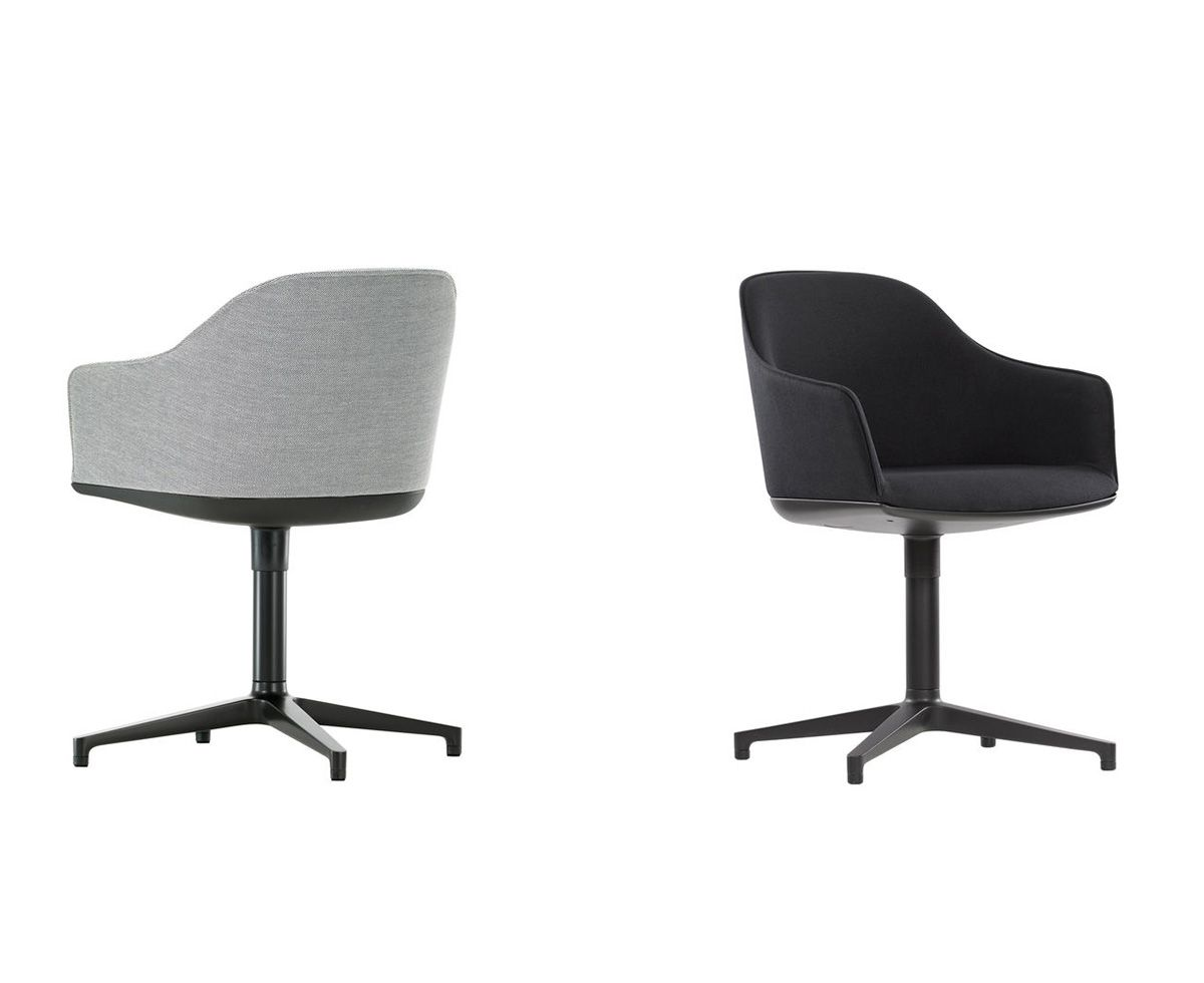 Best Vitra Soft Shell Chair Black And White Furniture Eames Lounge Chair 400 x 300