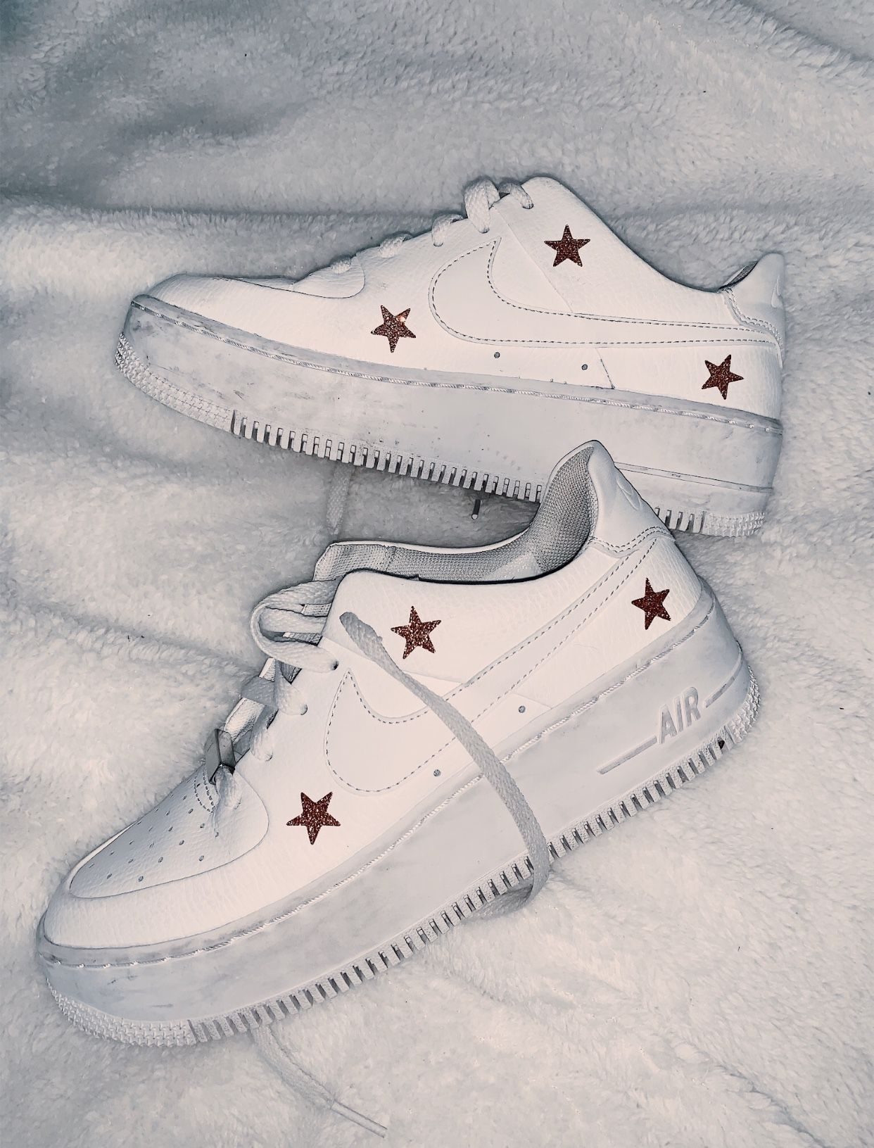 Off White Nike Air Force 1 Strap Custom