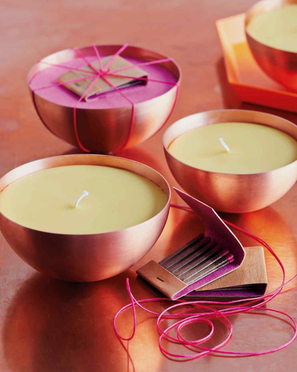 How To Make A Candle With Household Items #scentedcandles