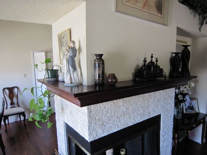 Corner Fireplace Mantel Shelf. Call for quote 310 977 3218 ...