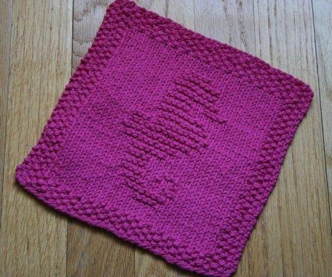 Seahorse Knit Dishcloth Pattern | washcloths | Pinterest | Lana y Tejido