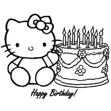 Top 25 Free Printable Hello Kitty Coloring Pages Online Hello Kitty Coloring Hello Kitty Colouring Pages Birthday Coloring Pages