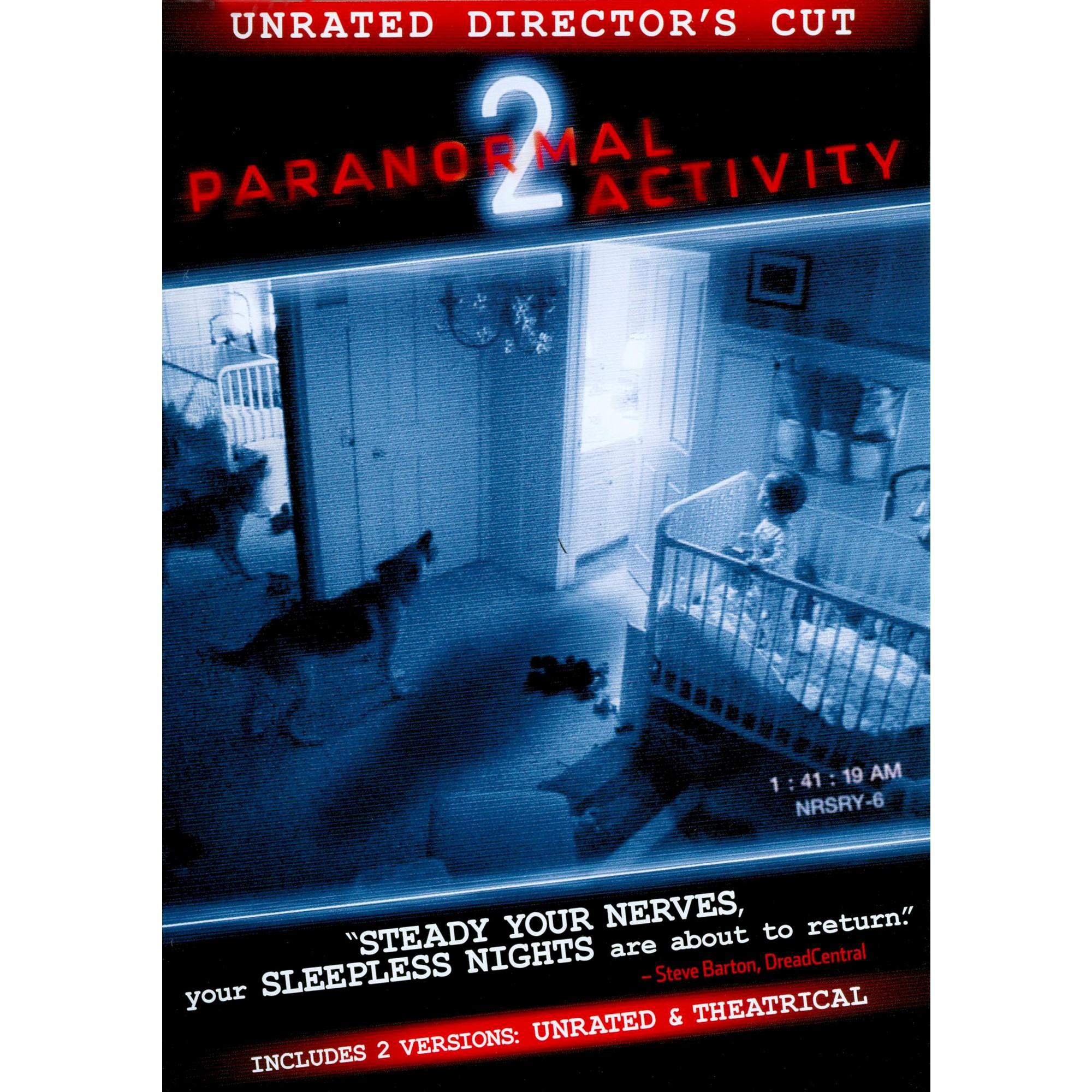 Paranormal Activity 2 Dvd Paranormal Activity Paranormal Activity 2 Paranormal