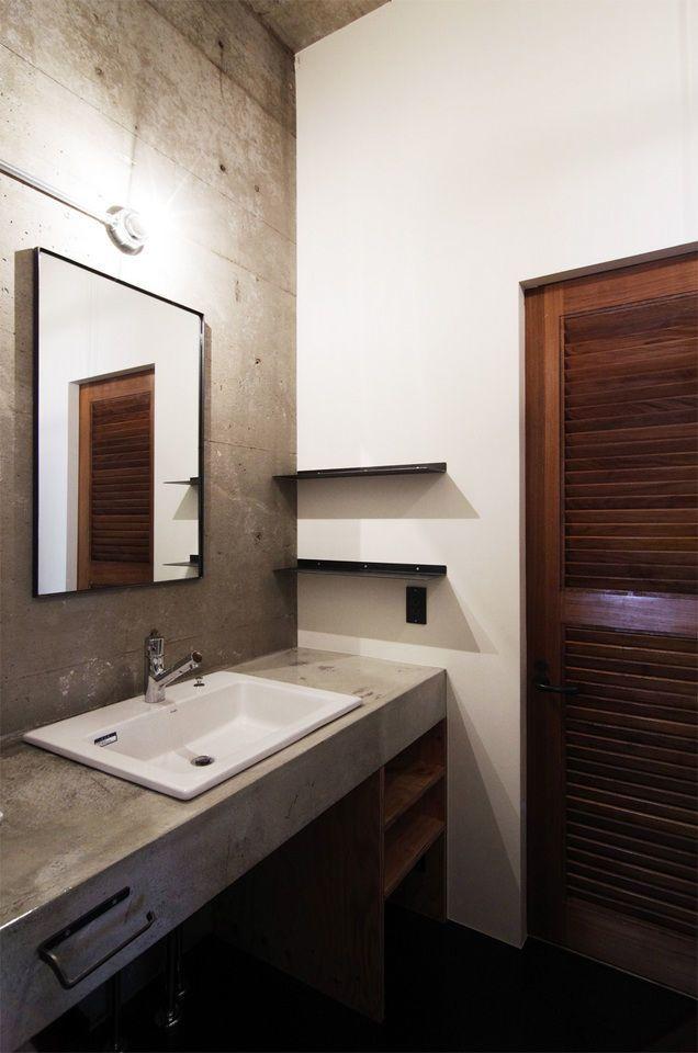 K様邸 洗面のリノベーション事例写真 Eight Design エイト