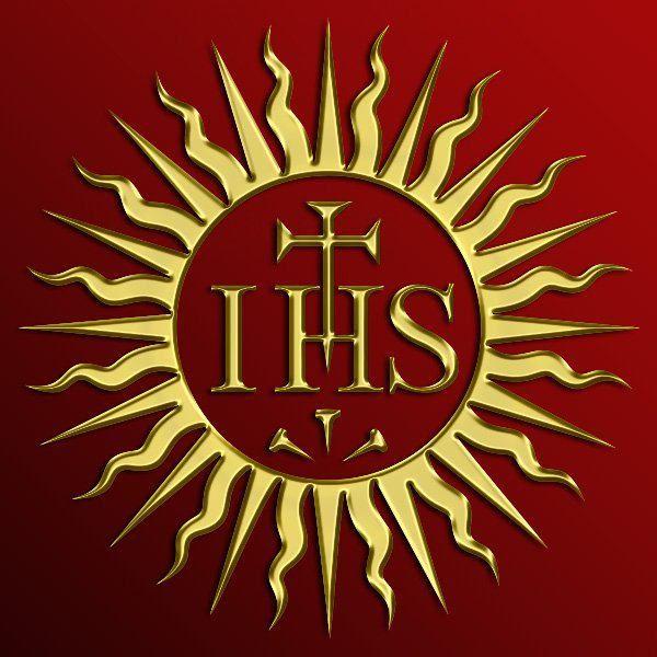 Society Of Jesus Jesuits Christogram Ihs Httpsimple