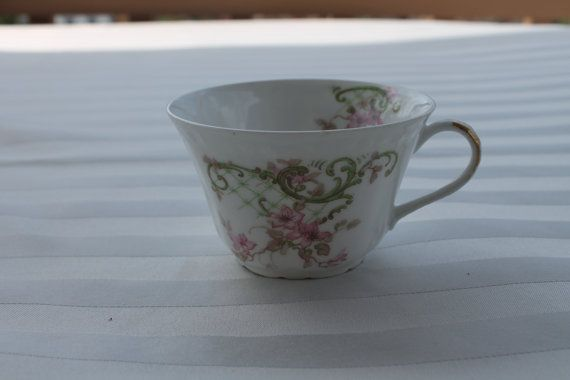 A Lanternier teacup from Limoges France on Etsy, $2.00