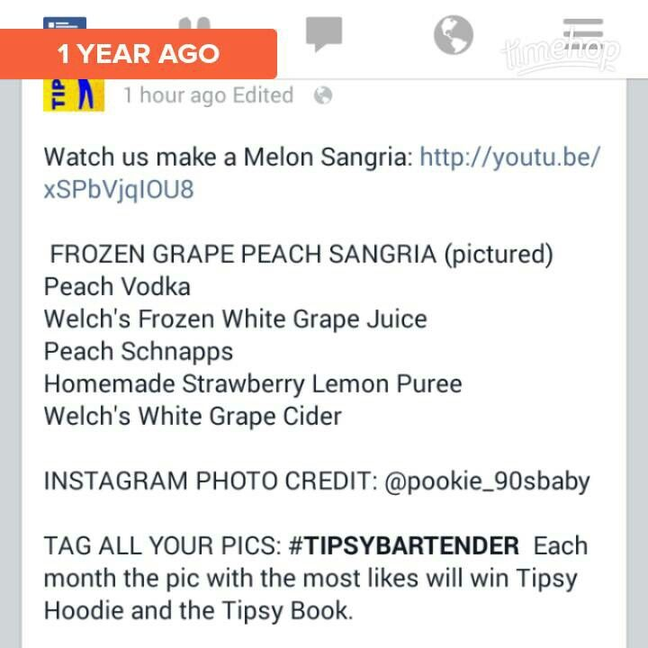 Frozen Grape Peach Sangria