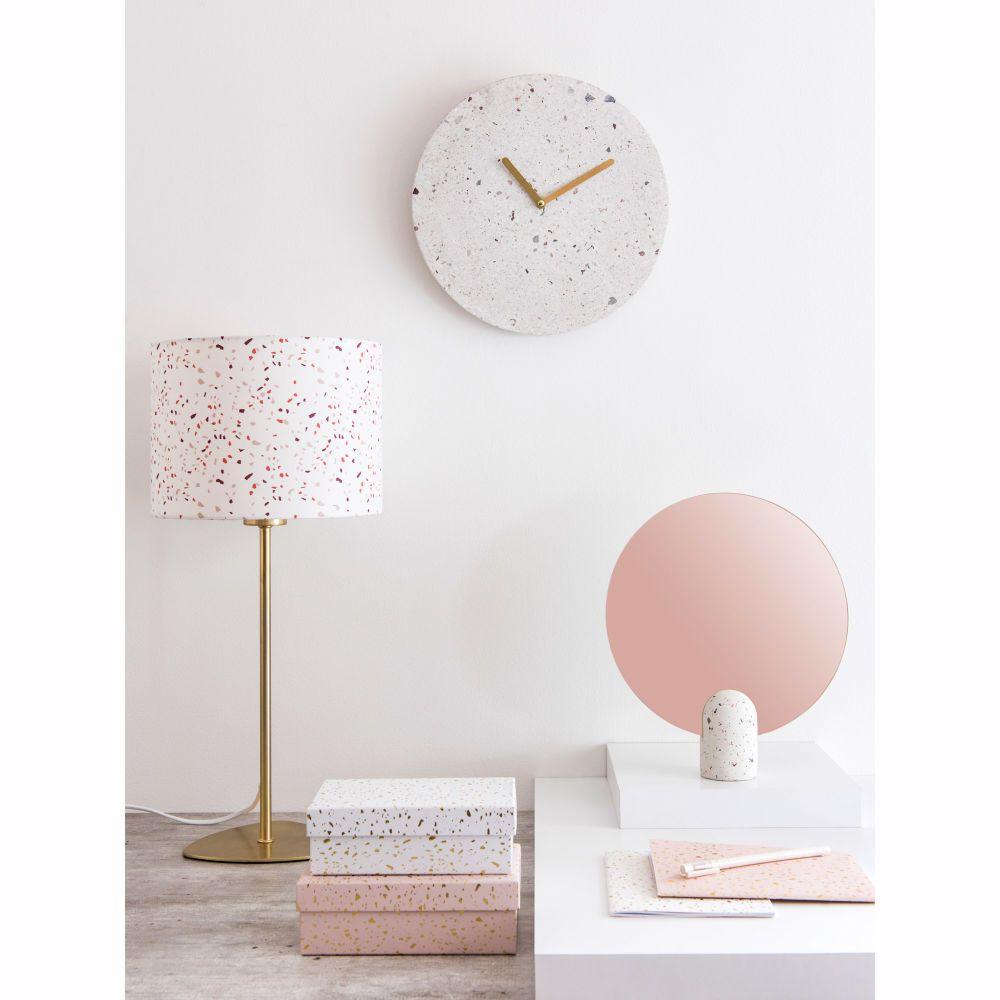 Maison Du Monde Terrazzo white terrazzo print clock | maisons du monde | trending