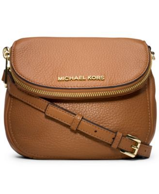 f36618fed10f MICHAEL Michael Kors Bedford Flap Crossbody | macys.com Love this in brown.  Perfect size and shape. If anyone has seen something super similar but  lower ...