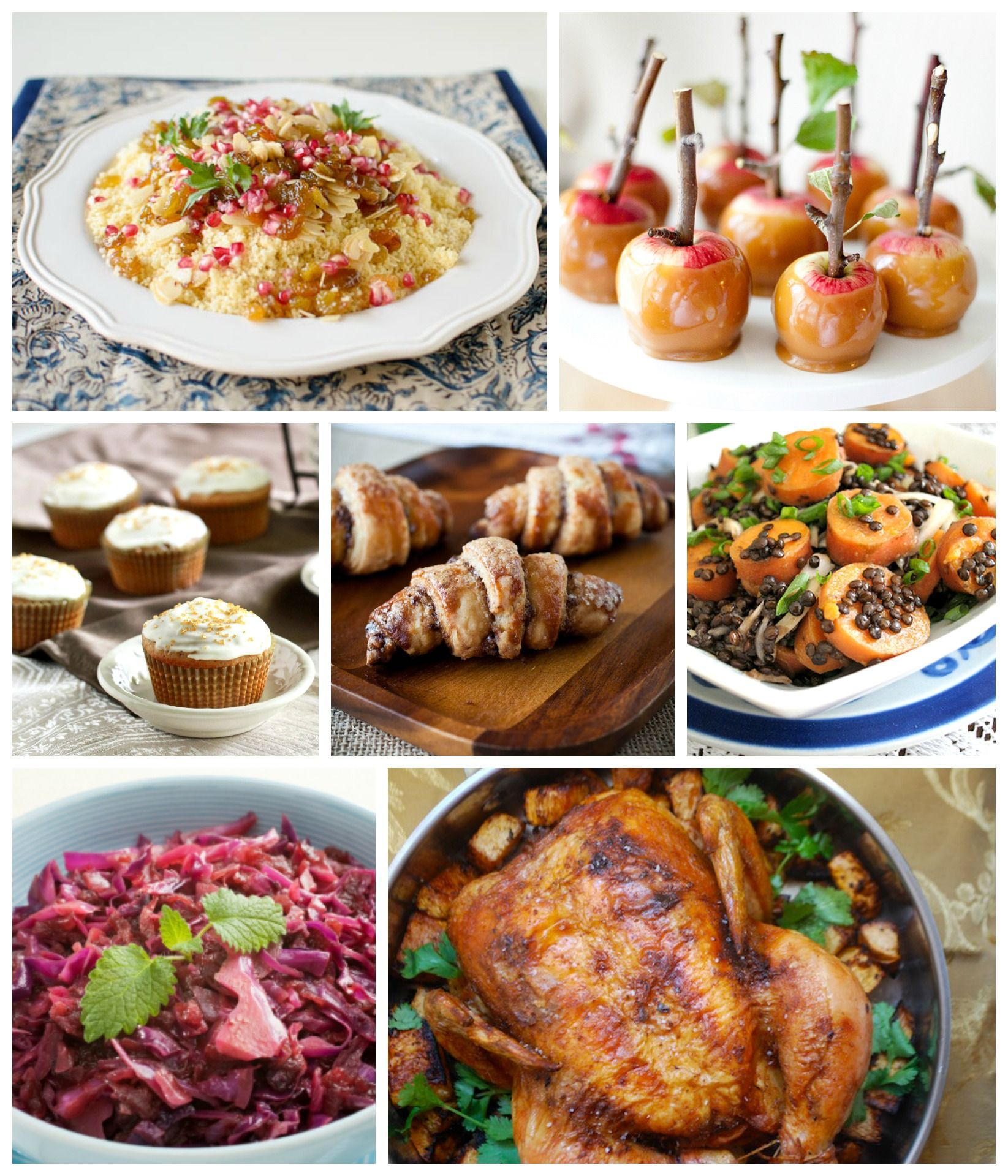 Rosh Hashanah Recipe Round-Up #roshhashanarecipes