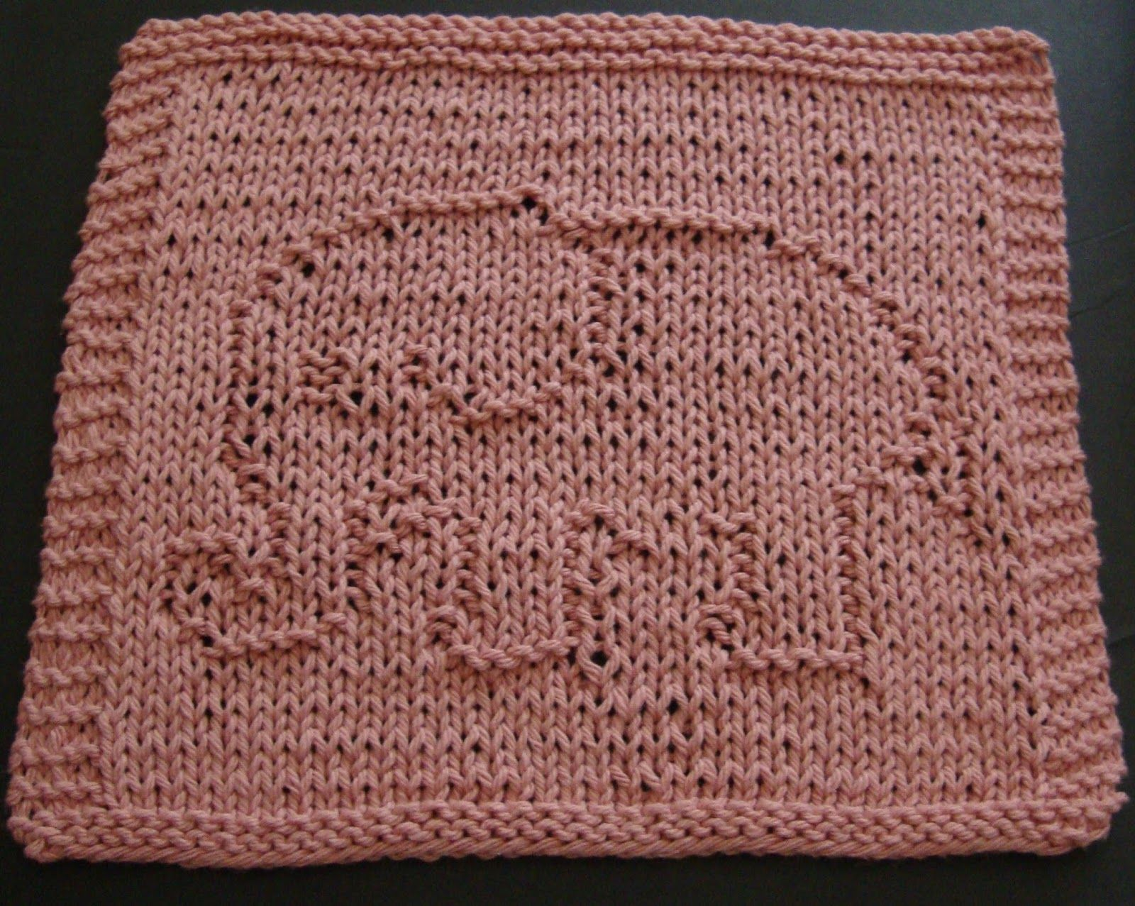 knitted elephant dishcloth pattern | DigKnitty Designs: Another ...