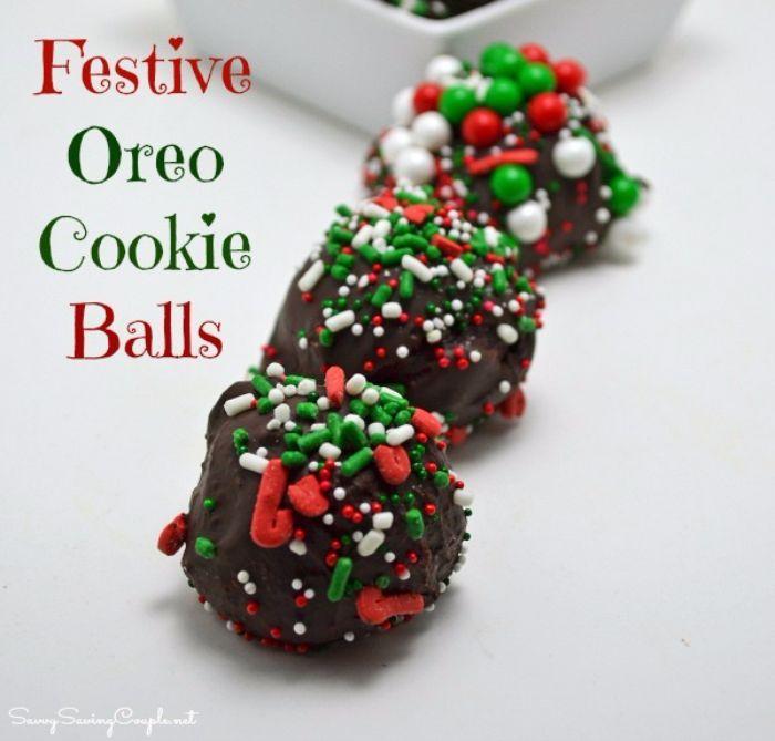no bake oreo cookie balls