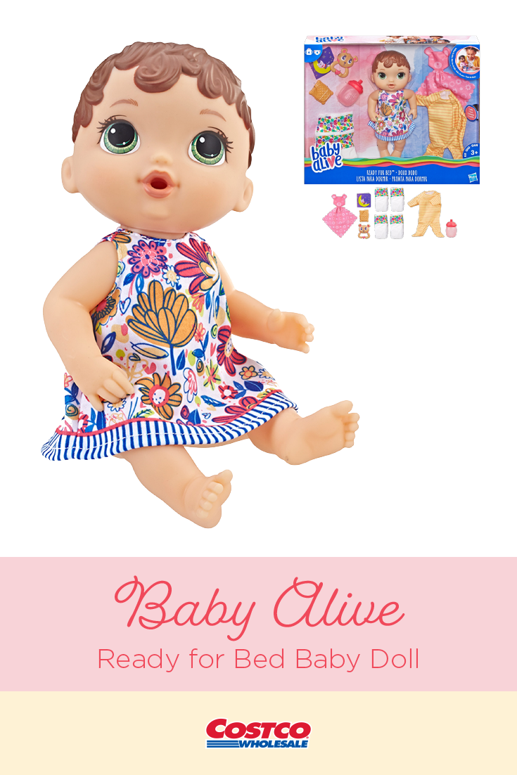 Baby Alive Ready For Bed Baby Doll Candy Land Birthday Party Baby Dolls Baby Alive