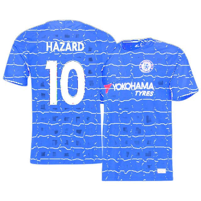 cheap for discount ad88c 3e474 Chelsea Jersey Shirt Home 17-18 eden hazard | chelsea ...