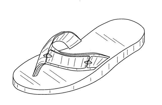 flip flop coloring page # 47