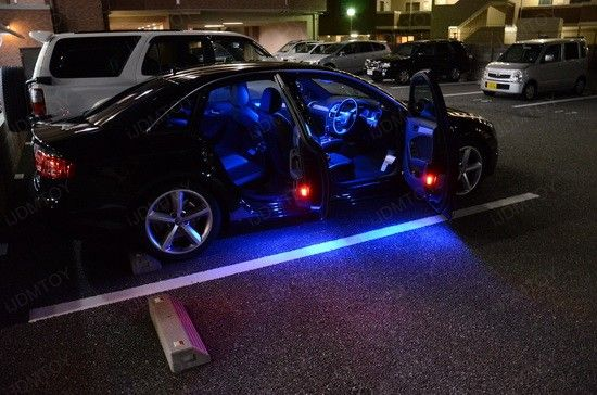 Led Per Auto Tuning.Audi Led Interior Package Cars Interior Lighting Audi Led
