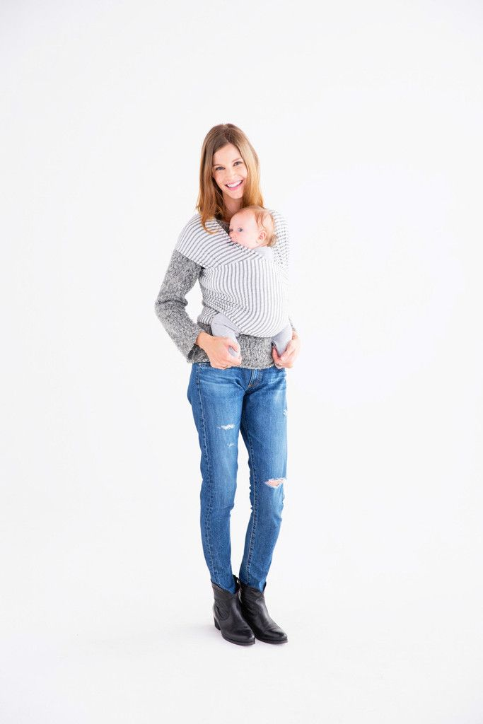 Natural Grey Stripe Solly Baby Any Neutral Color Click On The
