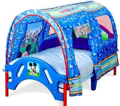 disney mickey mouse toddler bed with tent canopy boy bedroom