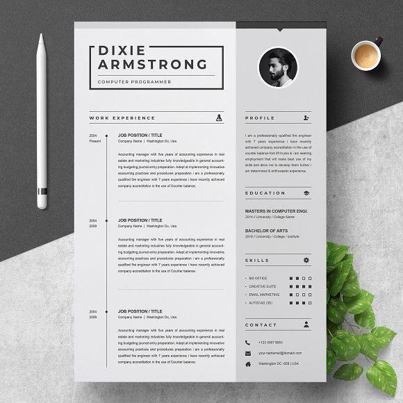 clean resume  creativework247