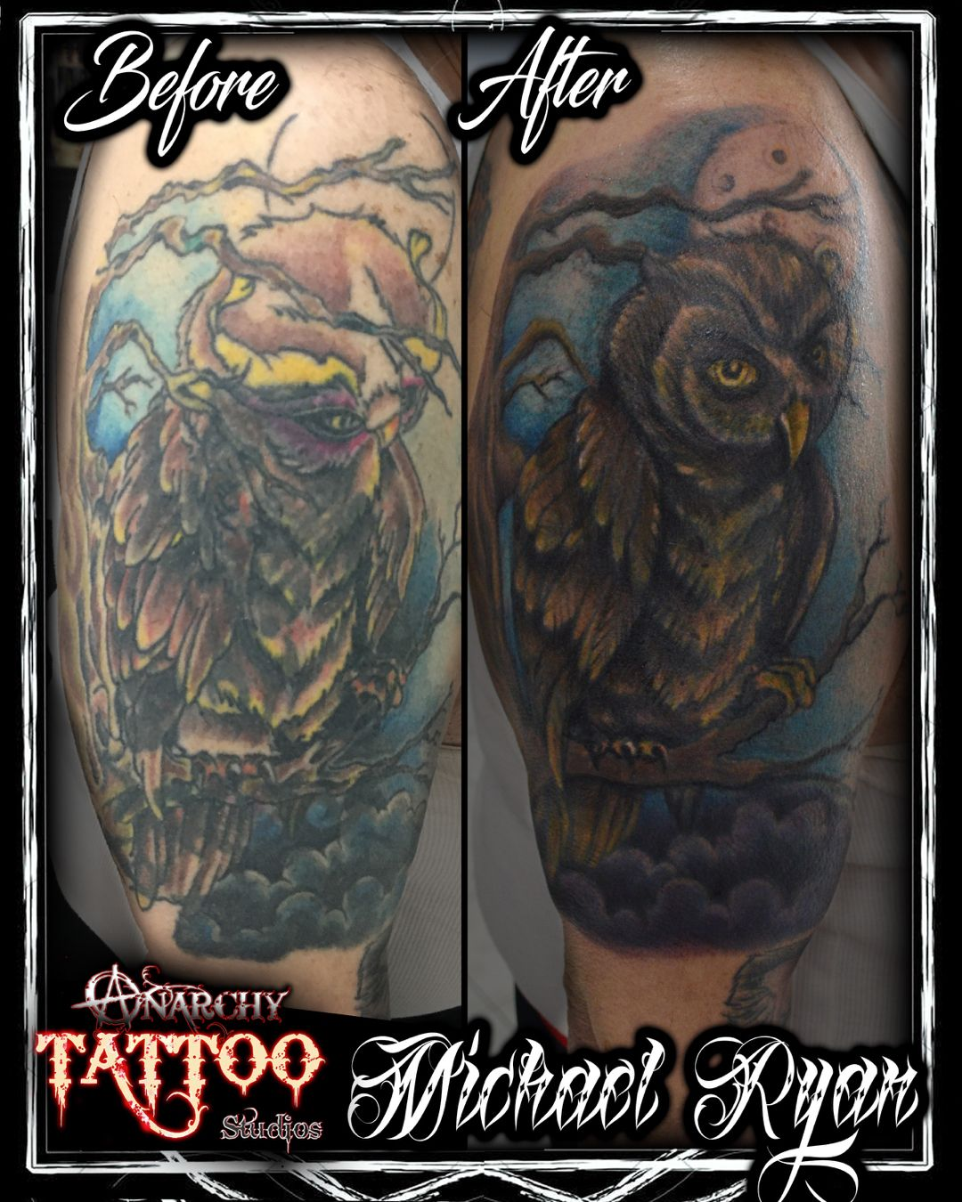Check out this major fixupcoverup by resident artist