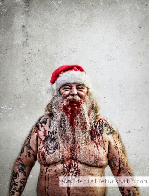 Weird Unusual Amazing Scary Christmas Creepy Christmas Bad Santa