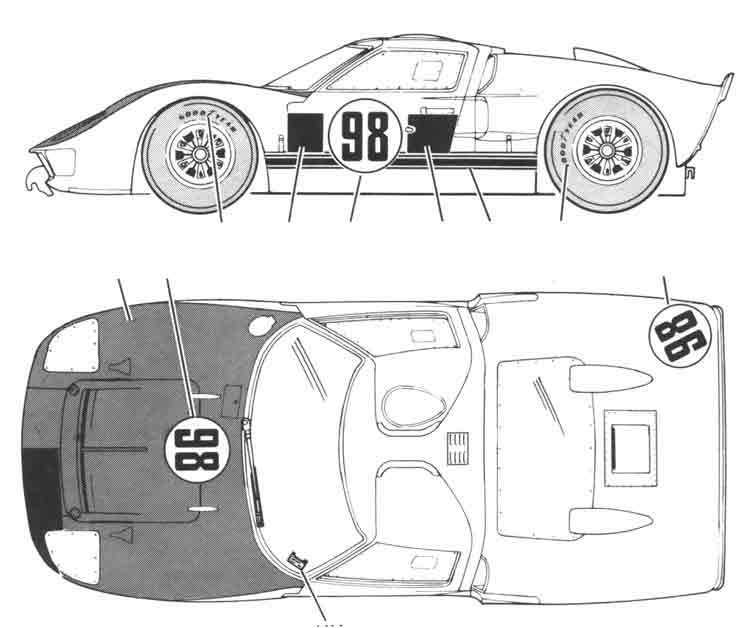 Ford gt40 blueprint my style pinterest ford gt40 ford and ford gt40 blueprint malvernweather Gallery