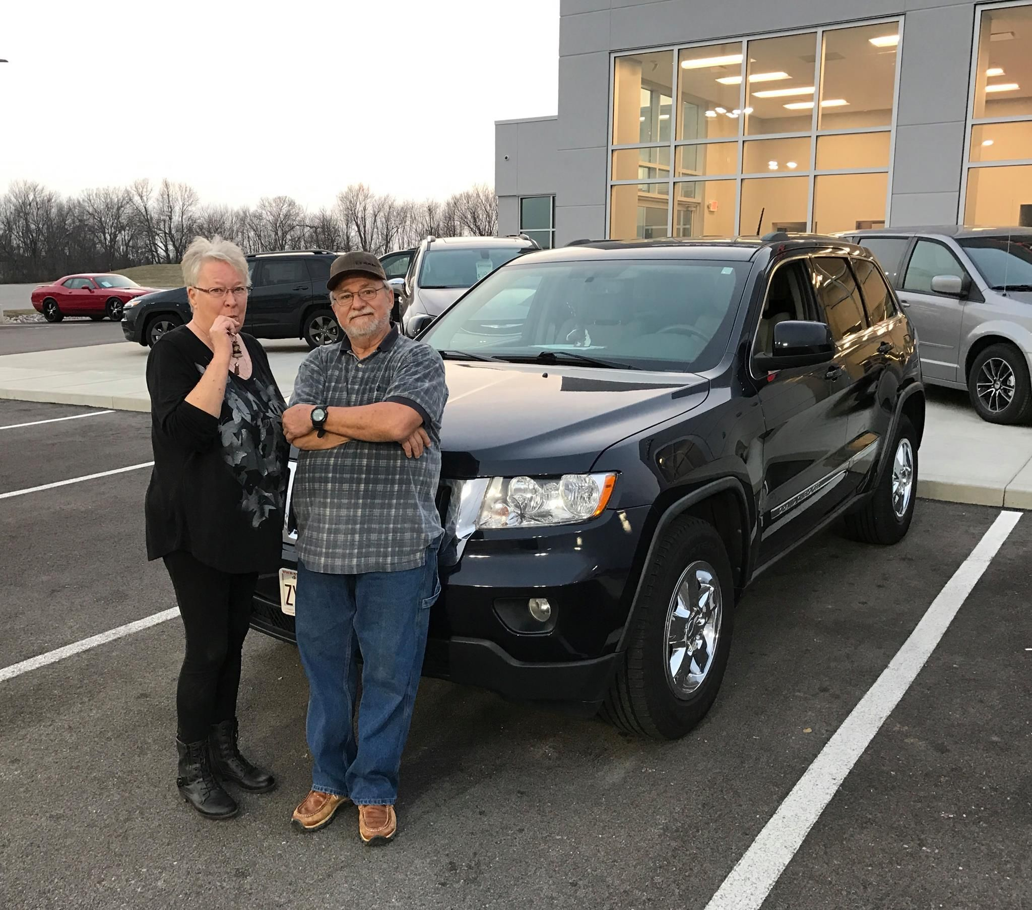 We Would Like To Congratulate Mindy And Terry On Their Purchase Of
