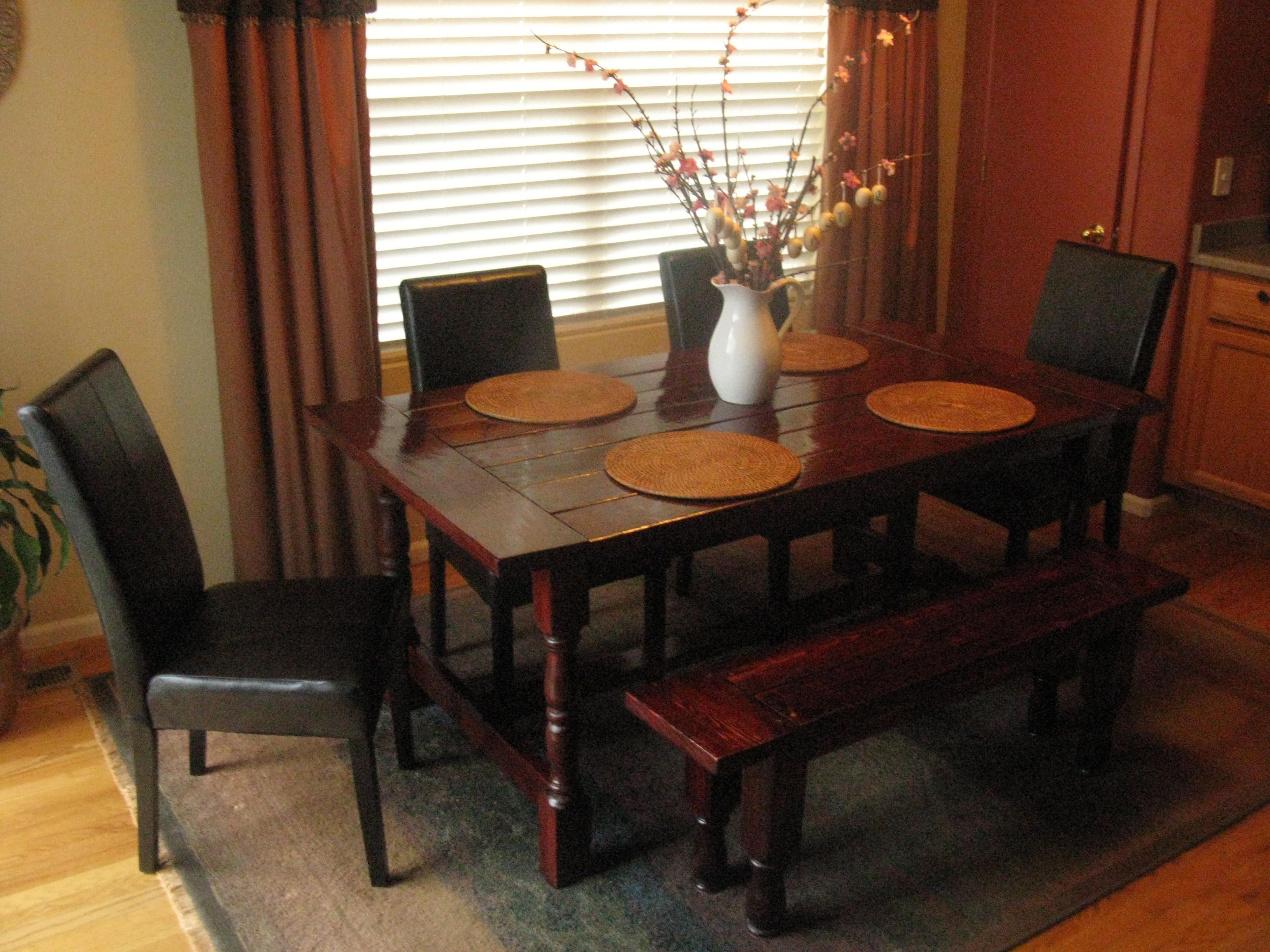 My Farmhouse Dining Table  Do It Yourself Home Projects From Ana Classy Oval Dining Room Table Set Design Decoration