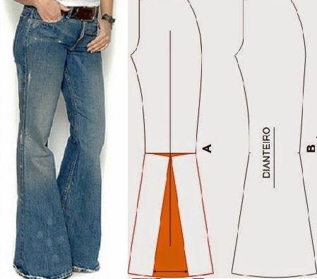 18f4ec552a Los pantalones de bota ancha