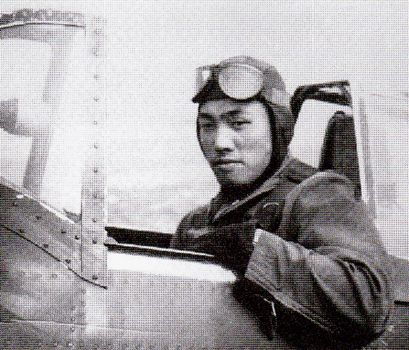 Maj. Shogo Takeuchi, JAAF ace with 19 victories, including one B-24.