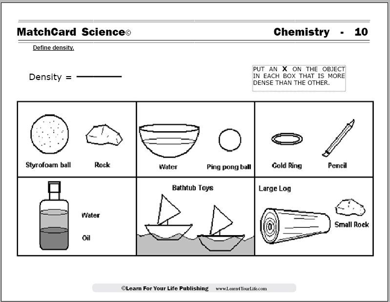 Chemistry worksheets science h pinterest worksheets chemistry density worksheet ibookread PDF