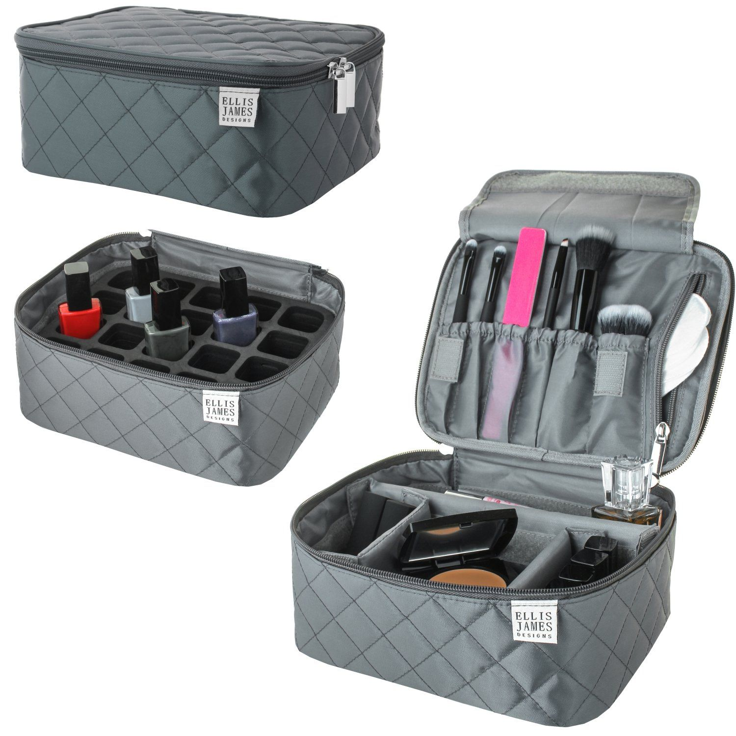 de1f4e3cf6640 Travel Makeup Train Case Bag